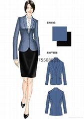 2014 new fashion restaurant work clothes