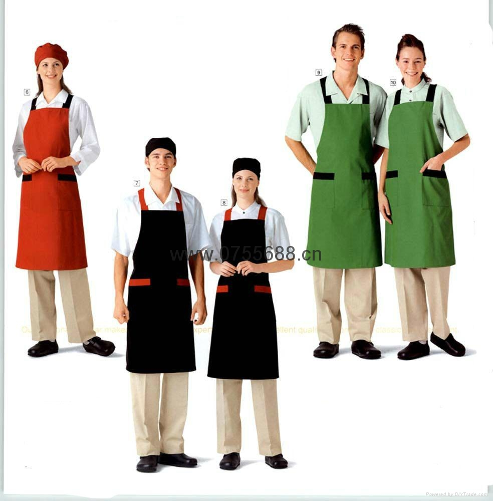 新款餐厅工衣三件套 1