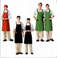 新款餐厅工衣三件套
