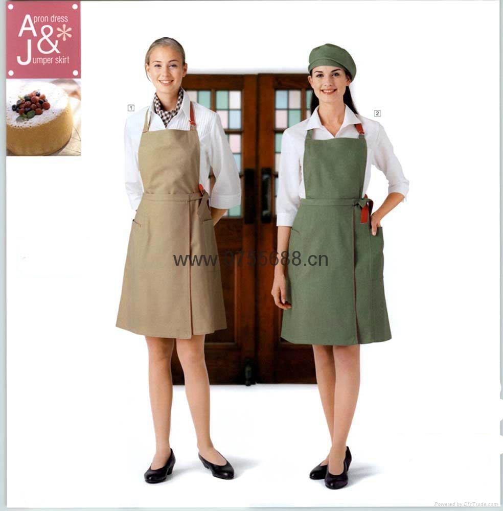 新款餐厅工衣三件套 2