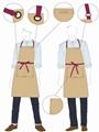餐厅工衣设计制作 1