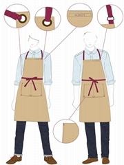餐厅工衣设计制作