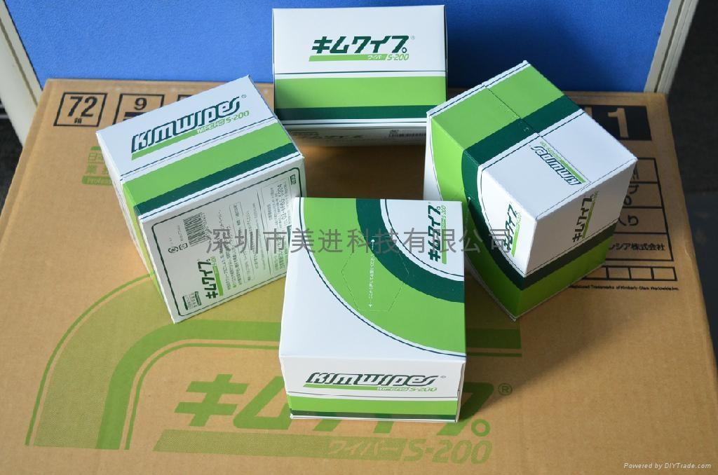 日本无尘擦拭纸S-200 镜头/镜片/试管/工业实验室用低尘净化室清洁纸 4