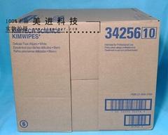 美国金佰利工业无尘纸34256-10 15盒每箱