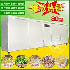 新款大型豆芽機生豆芽機器全自動控溫淋水商用豆芽機