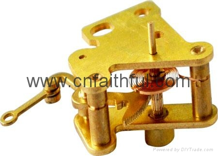 FNC60-H15/20--Vibration-proof pressure gauge movement