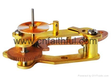 YNC100-G15T--Vibration-proof pressure gauge movement