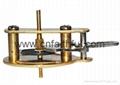 FYSC100-H18--Double cone pressure gauge
