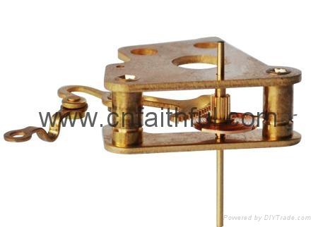 FYSC60-H16--Double cone pressure gauge movement