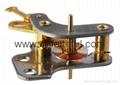 FYSC50-H15S--Double cone pressure gauge