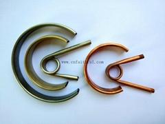 All kind of bourdon tubes for different pressure gauge