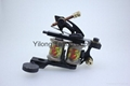 1100267 Fashion e tattoo machines with 10 wrap coils