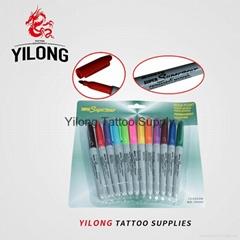 纹身彩色笔