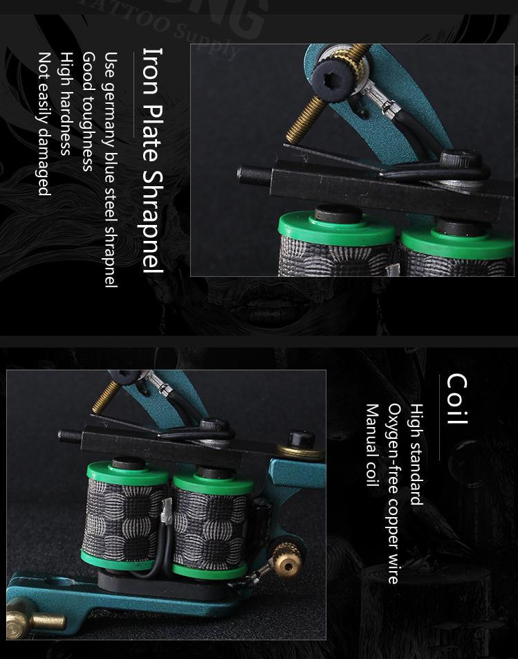 1001907-6 Coil tattoo machine 7