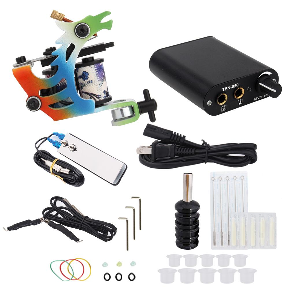 3000278 Hot Professional Coil Tattoo Machine Kit 1