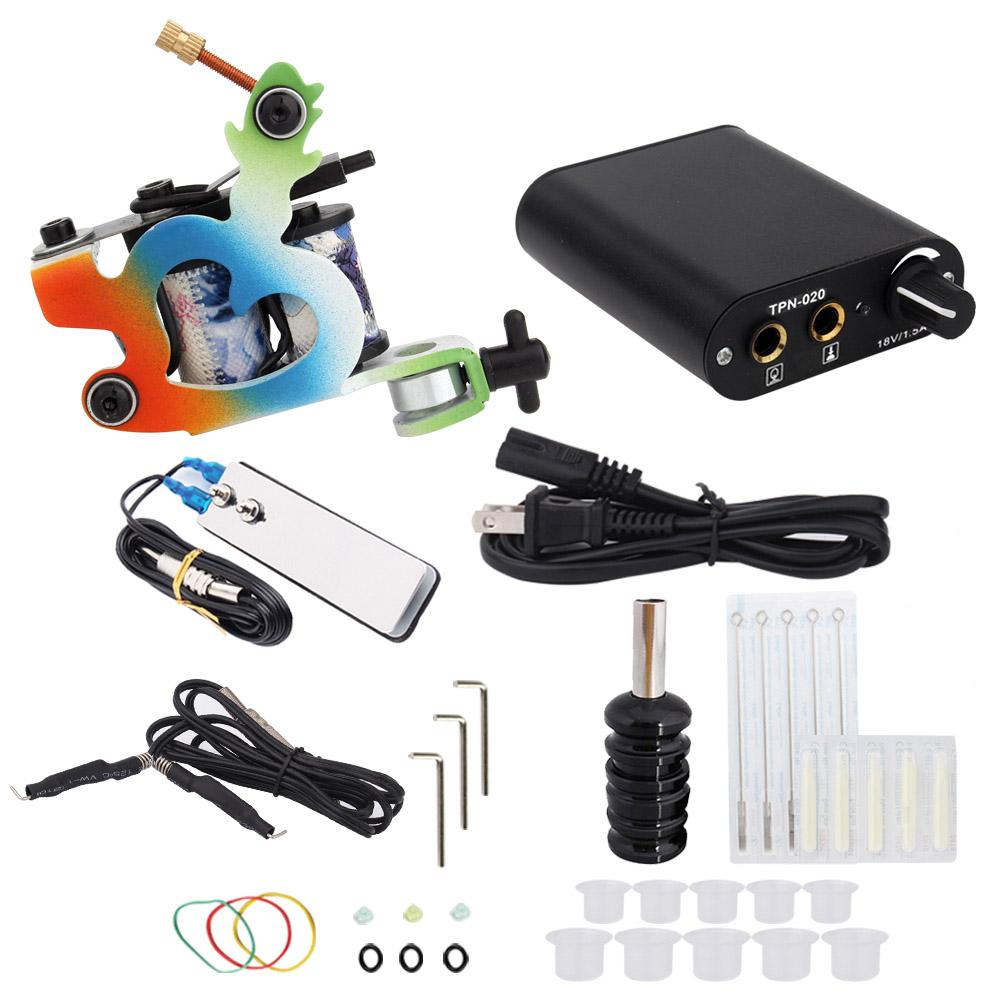 3000278 Hot Professional Coil Tattoo Machine Kit 2
