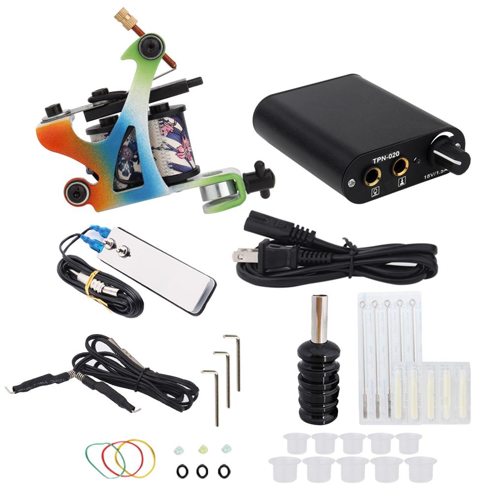 3000278 Hot Professional Coil Tattoo Machine Kit 5