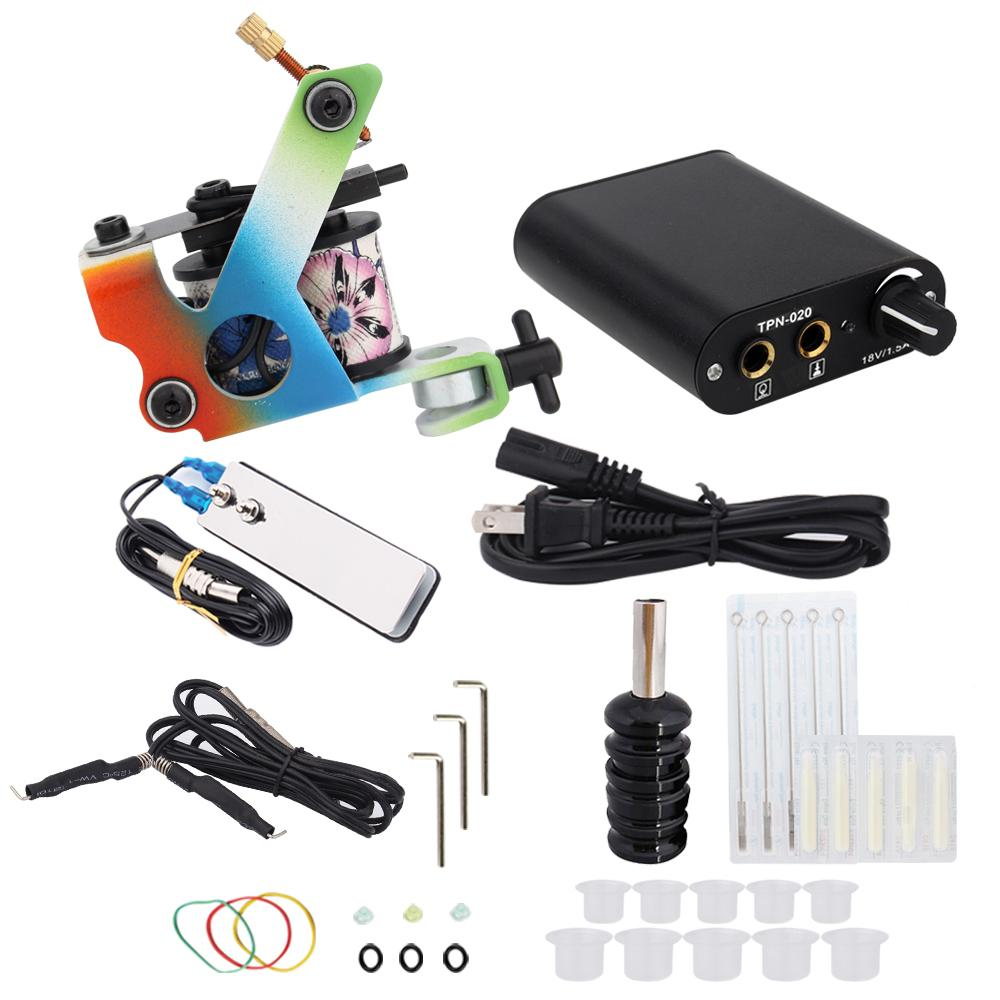 3000278 Hot Professional Coil Tattoo Machine Kit 6