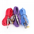 Yilong Red 90 degree angle Clipcord