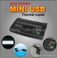 1900211  Black USB Mini Tattoo Thermal Copier