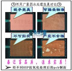 PCB銅面 OSP 有機抗氧化 保護膜