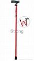 5 section folding crutch