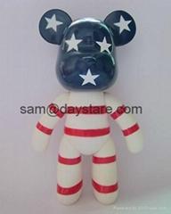 7 inch DIY ferrite MOMO Bear  platform promotion gifts toy