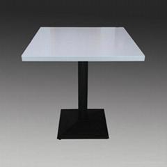 Quartz Stone dining table Lightweight Terrazzo  Fiberglass