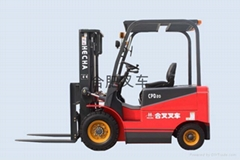 4-wheel counterweight  electric forklift truck