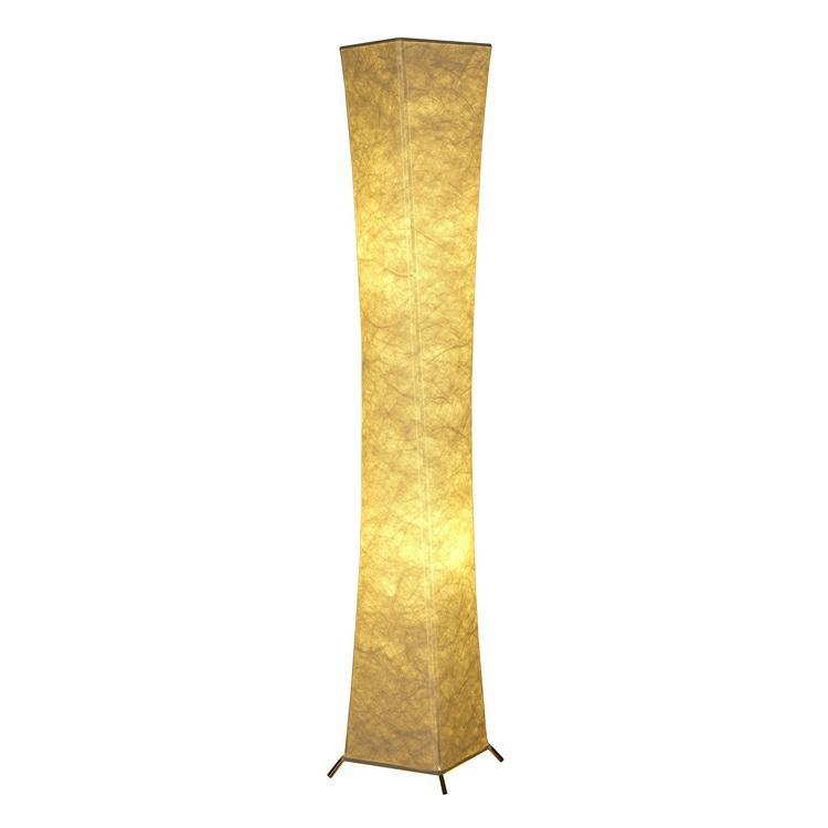 """52""""SOFTLIGHTING Floor lamp Fabric shade Simple shape Warm atmosphere Bedroom 1"""