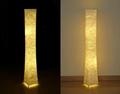 """52""""SOFTLIGHTING Floor lamp Fabric shade Simple shape Warm atmosphere Bedroom 3"""