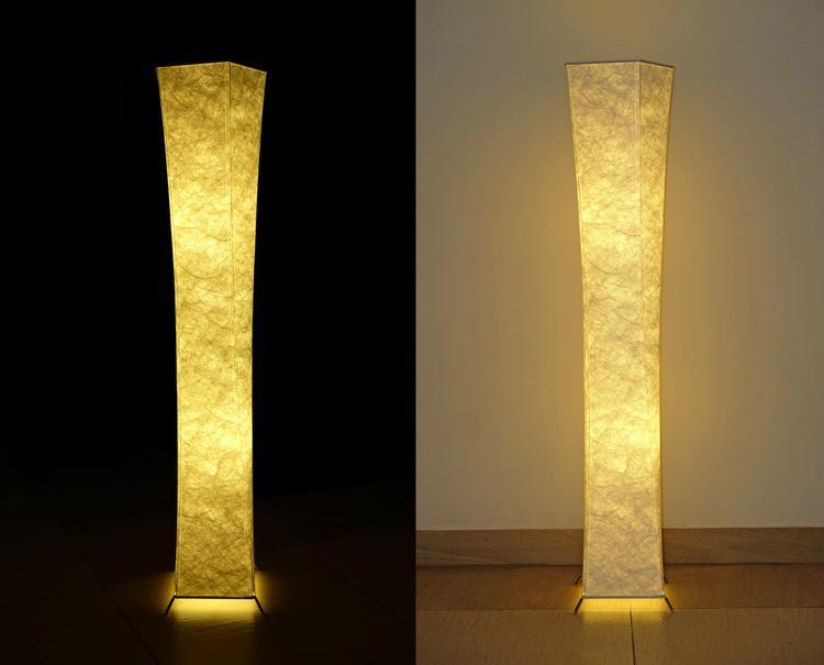 """52""""SOFTLIGHTING Floor lamp Fabric shade Simple shape Warm atmosphere Bedroom 5"""