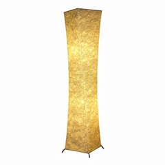 "52""SOFTLIGHTING Floor lamp Fabric shade Simple shape Warm atmosphere Living room"