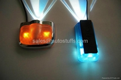 LED Car Ghost Shadow Lights Drill Free 2013
