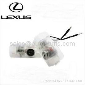 LED Car Plug & Play 3D Logo Laser Door Lights Special for Lexus  1