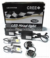 LED Car Cree Head Light Kit H7 50W