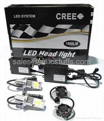 LED Car Cree Head Light Kit H7 50W