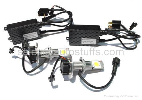 LED Car Cree Head Light Kit H7 50W 2