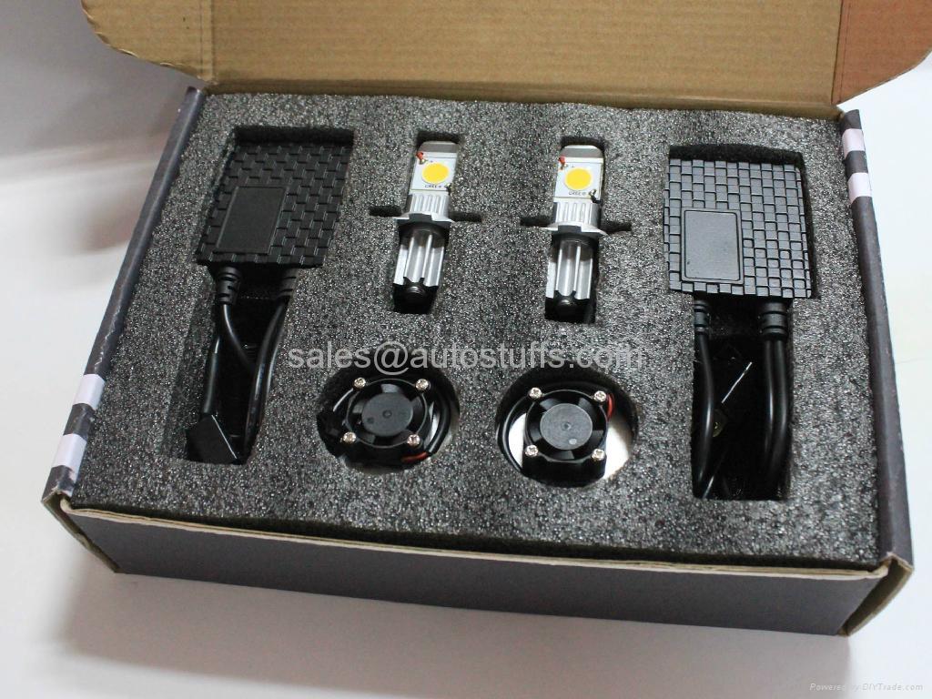 LED Car Cree Head Light Kit H7 50W 4