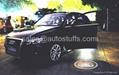 LED Car Ghost Shahow Light 2013,Custom Logo Available! 2