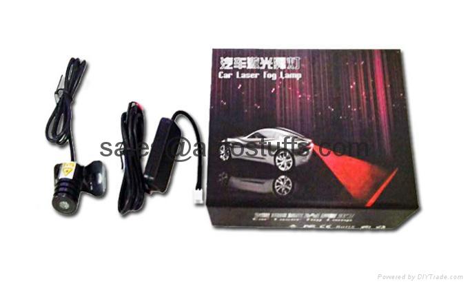 Car LED Laser Rear Fog Projector Light 2015 NEW 2