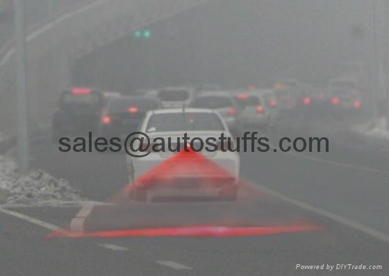 Car LED Laser Rear Fog Projector Light 2015 NEW 3