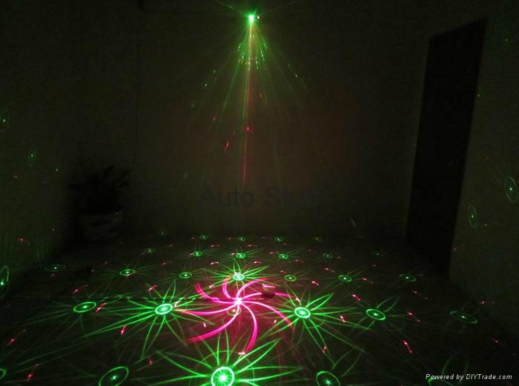 LED Stage Laser Ptojector Light 40 Patterns 4
