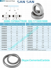 Tungsten Carbide Seats and Rings