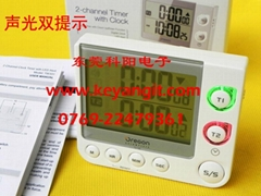 2-channel clock timer