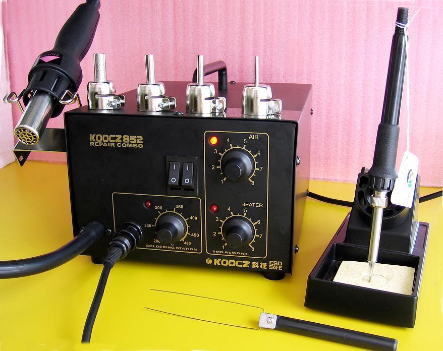 科捷KOOCZ852两用拆焊台 1