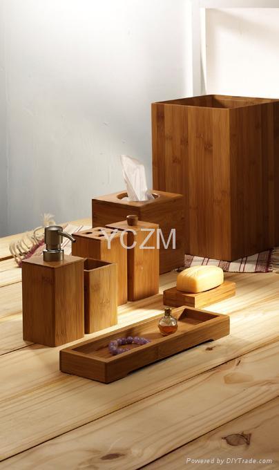 YCZM 竹制沐浴用品 1