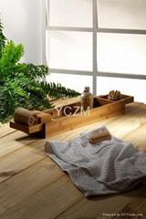 YCZM 竹制浴缸架