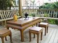 YCZM BAMBOO TEA SERVICE TABLE