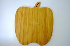 YCZM Bamboo Apple Chopping Board